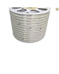Banda LED 220V Alb Cald 18W/m Benzi LED