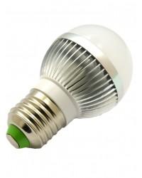 Bec LED 3W E27 cu lumina Alb Rece LED Interior