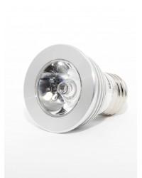 Bec LED cu telecomanda Multicolor 3W RGB LED Interior