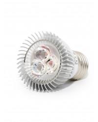 Bec LED E27 3W lumina Alb Rece LED Interior