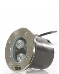 Spot LED exterior incastrabil RGB PS007 3W LED Exterior