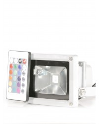 Proiector exterior RGB PE005 10W - cu telecomanda LED Exterior